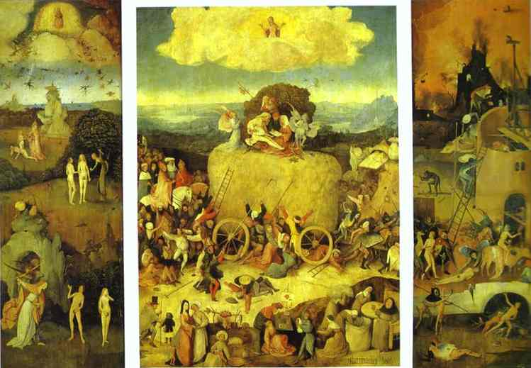 ddc509a2060 Hay In Art  Bosch s Wain s world  hay symbolism in the sixteenth ...